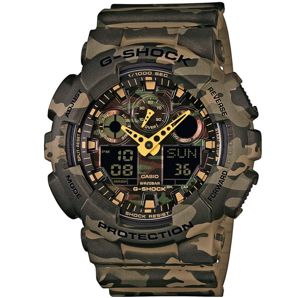 Zegarek męski Casio G-Shock GA-100CM-5A